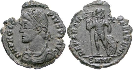 Procopius  365-366. Æ 20mm. Nicomedia mint.