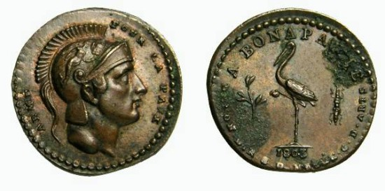 France: Napoleon Negotiations with England Medalet, 1803