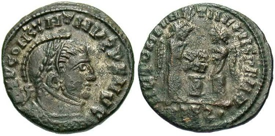 """Constantine I"", AE3, VLPP Imitative Type, ""Siscia"" Mint"