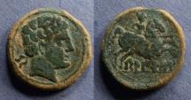 Ancient Coins - Spain, Belikio 100-70 BC, AE24