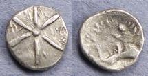 Ancient Coins - Celtic, Atrebates & Regni, Tincommius 1-10 AD, AR Unit