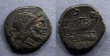 Ancient Coins - Roman Republic, Anonymous After 211 BC, Semis