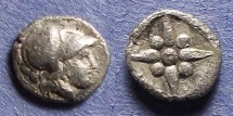 Ancient Coins - Asia Minor, Uncertain city Circa 350 BC, Obol