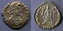 Ancient Coins - Roman Empire, Honorius 393-423, Siliqua