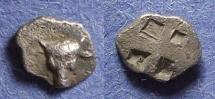 Ancient Coins - Troas, Lamponeia Circa 450 BC, Hemiobol