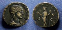 Ancient Coins - Roman Empire, Julia Soaemias 218-222, Dupondius