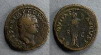 Ancient Coins - Roman Empire, Titus (as Caesar) 69-79, As