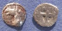 Ancient Coins - Macedonia, Mende 480-460 BC, Tritartemorion