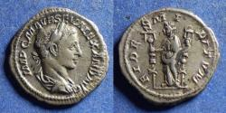 Ancient Coins - Roman Empire, Severus Alexander 222-235, Silver Denarius
