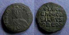 Ancient Coins - Byzantine Empire, Leo VI 886-912, Follis