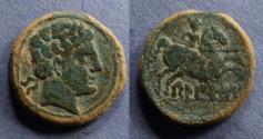 Ancient Coins - Spain, Belikio 100-70 BC, AE24