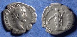 Ancient Coins - Roman Empire, Antoninus Pius 138-161, Silver Denarius