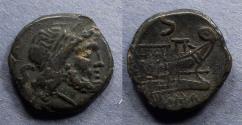 Ancient Coins - Roman Republic, Anonymous After 211 BC, Semis