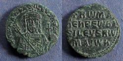 Ancient Coins - Byzantine Empire, Romanus I 920-944, Follis