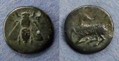 Ancient Coins - Ionia, Ephesos 370-350 BC, AE13