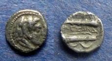 Ancient Coins - Macedonian Kingdom, Alexander III 336-323 BC, Hemiobol