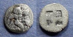 Ancient Coins - Islands off of Thrace, Thasos 525-463 BC, Trihemiobol