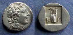 Ancient Coins - Lycian League, Kragos 48-42 BC, Hemidrachm