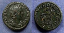 Ancient Coins - Roman Empire, Otacilia Severa 244-249, Aes