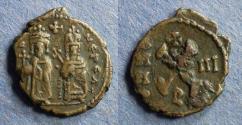 Ancient Coins - Byzantine Emipre, Phocas 602-610, Decanummium