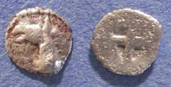 Ancient Coins - Macedonia, Mende 480-460 BC, Tritartemorion