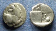 Ancient Coins - Thrace, Chersonesos 350-330 BC, Hemidrachm