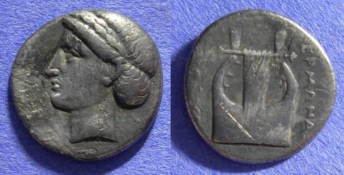 Ancient Coins - Colophon Drachm - 390 to 350 BC