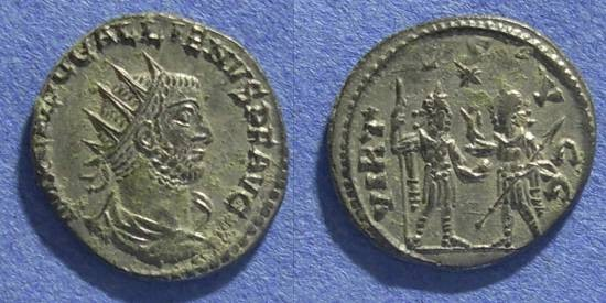 Ancient Coins - Roman Empire, Gallienus 253-268 AD, Antoninianus