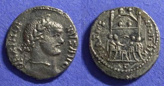 Ancient Coins - Imitative Argenteus of Maximianus 286-305AD