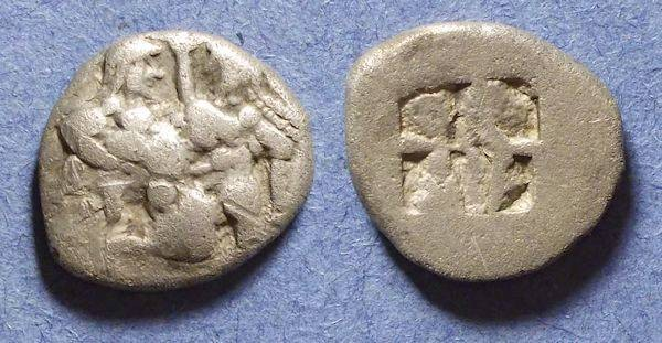 Ancient Coins - Thasos, Island off Thrace 525-463 BC, Drachm