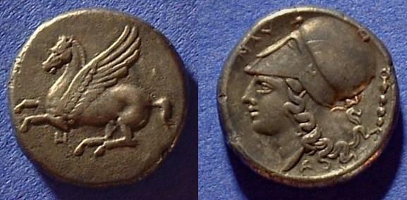Ancient Coins - Anaktorian, Akarnania  Stater 345-305BC