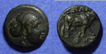 Ancient Coins - Boione, Aeolis Circa 300 BC, AE10