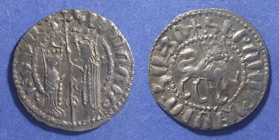 Ancient Coins - Armenia, Hetoum & Zabel 1226-70, Tram
