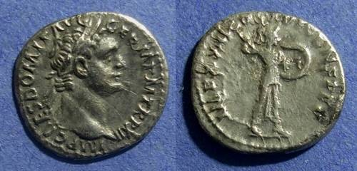 Ancient Coins - Roman Empire, Domitian 81-96, Denarius