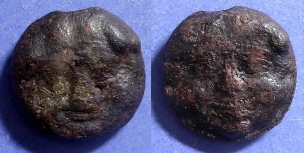 Ancient Coins - Selinos, Sicily 435-415 BC, Trias