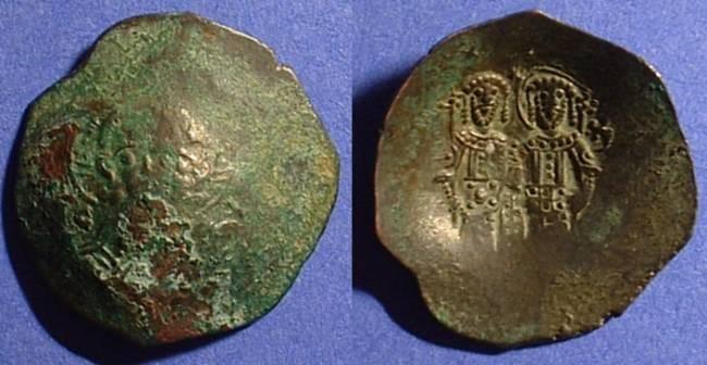 Ancient Coins - Alexius III - 1195-1203  Billon Aspron Trachy