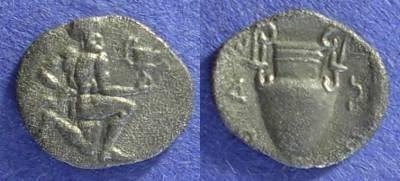 Ancient Coins - Thasos – Island off Thrace: Circa 400BC Obol