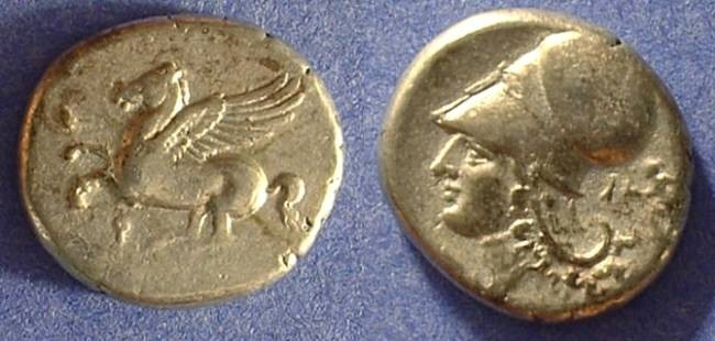 Ancient Coins - Corinth Stater 345-305 BC