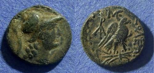 Ancient Coins - Cilicia, Soloi Circa 150 BC, AE15