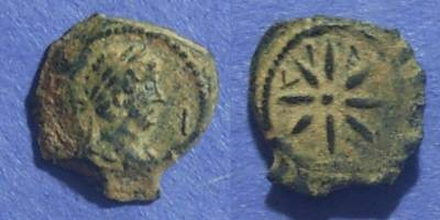 Ancient Coins - Roman Egypt, Hadrian 117-138 AD, Dichalkon