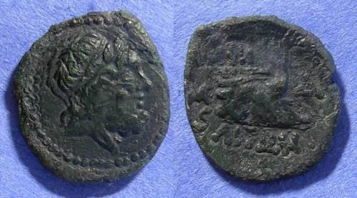 Ancient Coins - Amphipolis Macedonia AE 22 – Circa 50 BC