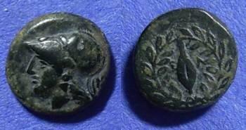 Ancient Coins - Elaea Aiolis – AE11 Circa 300 BC