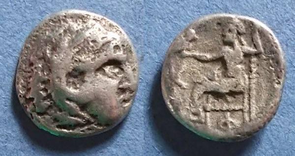 Ancient Coins - Macedonian Kingdom, Alexander III Struck 310-1 BC, Drachm