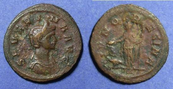 Ancient Coins - Roman Empire - Severina 270-275  As