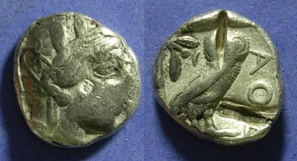 Ancient Coins - Athens – Tetradrachm 449-413BC