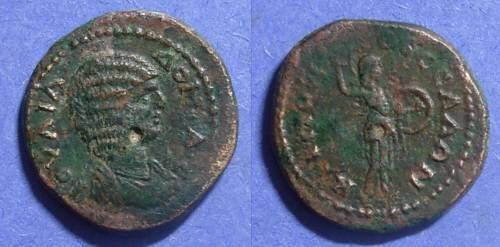 Ancient Coins - Thessalonica Macedonia, Julia Domna 193-217, AE21