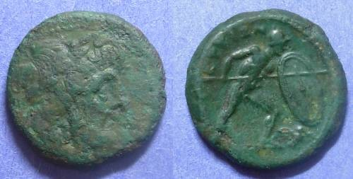 Ancient Coins - Bruttium, The Brettii 216-208 BC, AE21