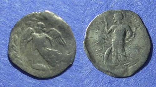 Ancient Coins - Kamarina, Sicily 461-430 BC, Litra