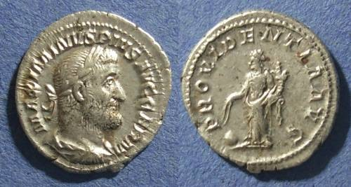 Ancient Coins - Roman Empire, Maximinus 235-238, Denarius