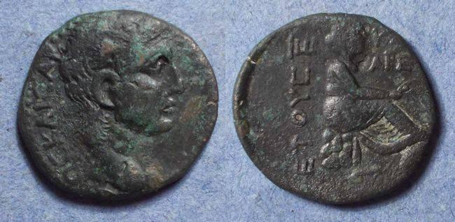 Ancient Coins - Anazarbos(?) Cilicia, Claudius 41-54, AE23